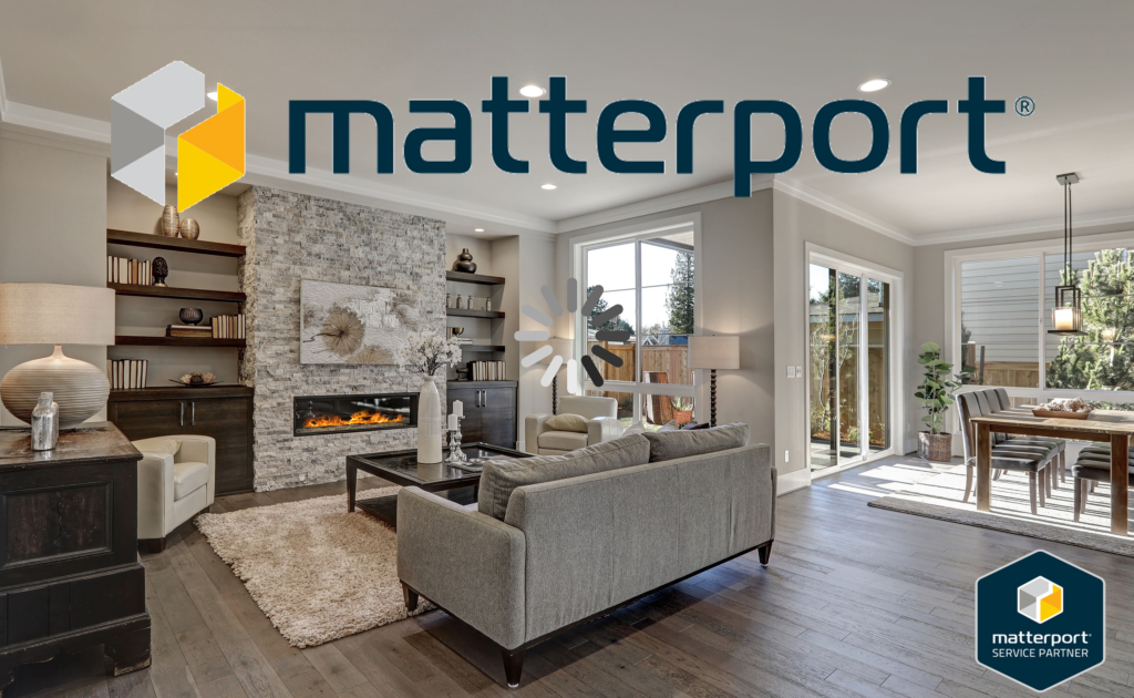 Matterport logo for main page